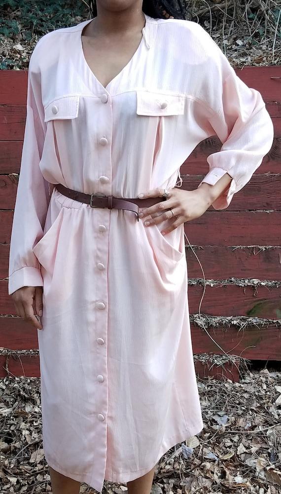 Pastel Pink Farm Dress
