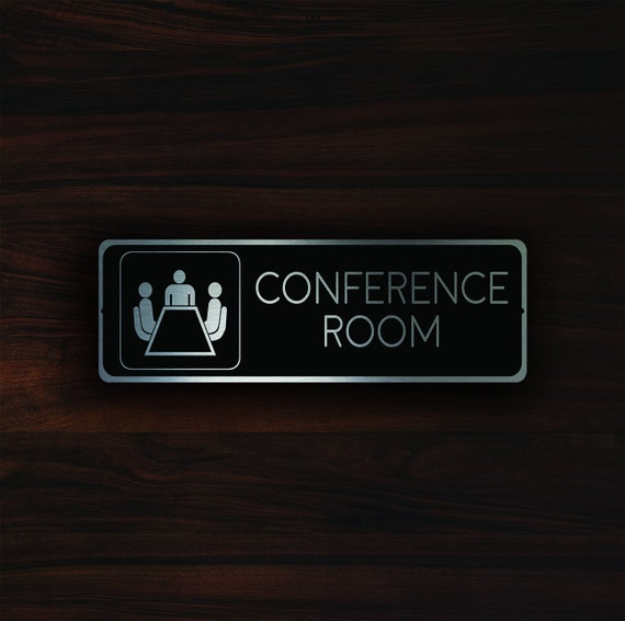 conference room sign conference room signs meeting room door etsy