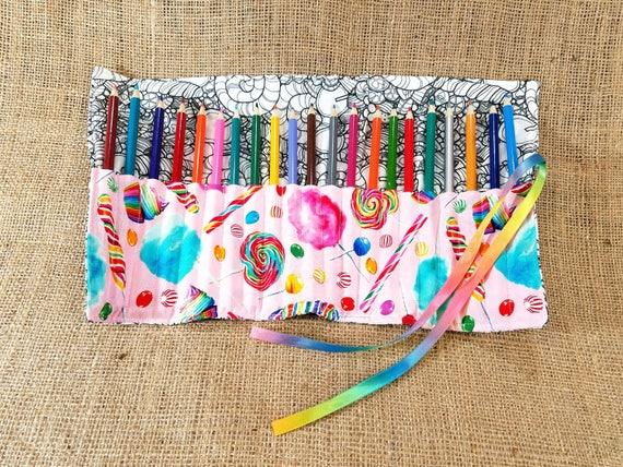 Kit Coloriage Fille.Candy Coloriage Crayon Roll Coloration Tissu Cadeau De Fille De