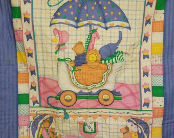 Baby quilt. Crib size quilt. Baby shower!! Great gift!!