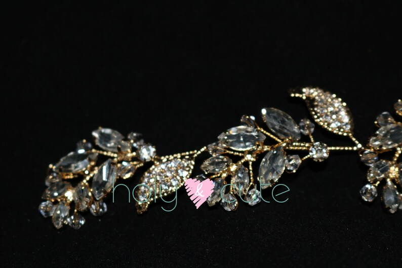 Gold Wedding Headband, Gold Wedding Headband Gold wreath for bride Bridal Hair Accessories Gold Bridal Headpiece Gold Bridal Headband
