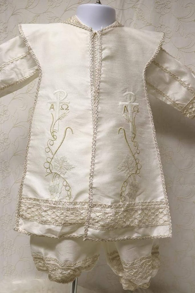 Boy Baptism Gown Baptism Gown for boy Boy Baptism suit Boy | Etsy