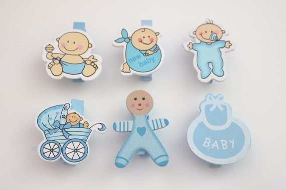 Baby Shower Guest Pins Baby Shower Favors Baby Shower Etsy