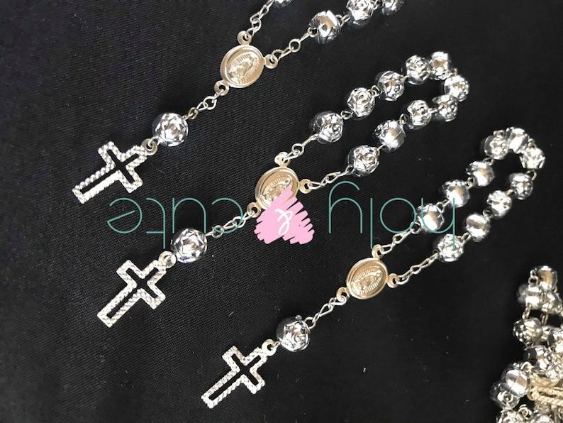 1243f8ebb4e Minirosarios mini rosarios para boda recuerditos de boda