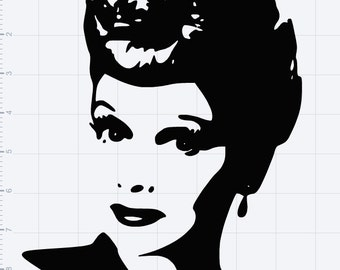 Download I love lucy decal | Etsy