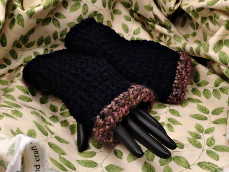 Hand Crocheted Wrist Warmers