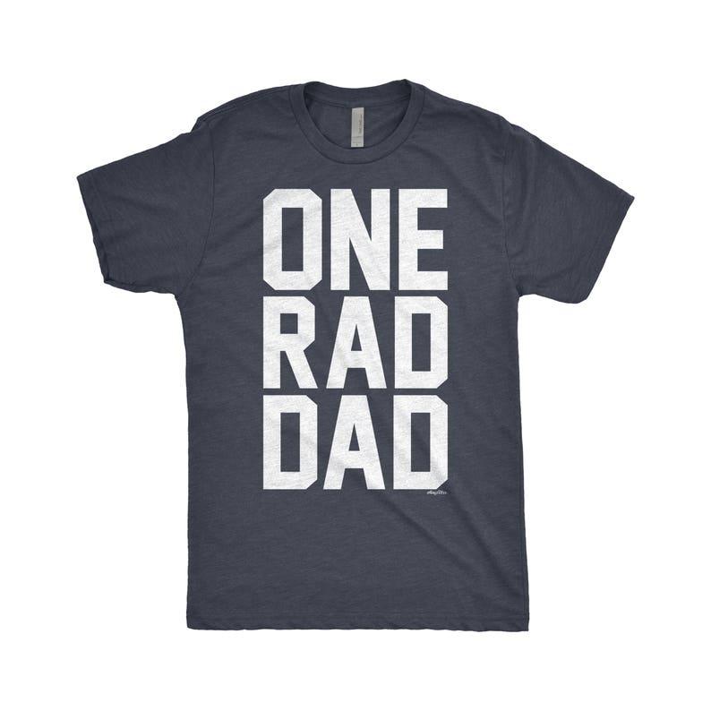 cf970945f Rad Dad Shirt One Rad Dad Funny Fathers Day Grandfather | Etsy