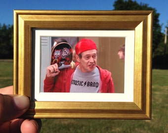Steve Buscemi - Mini Framed Art (FREE S&H)