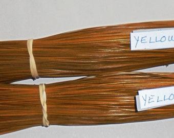 Yellow Dyed NC Long Leaf Pine Needles