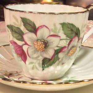 Pretty Pink Addiction-Vintage PSAG Bavaria Hand Painted Artist Signed Sugar Bowl or Honey Pot