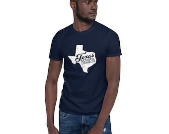 School Counselor | Texas | Shirt | Distressed | Guidance Counselor | TX | Gift Short-Sleeve Unisex T-Shirt