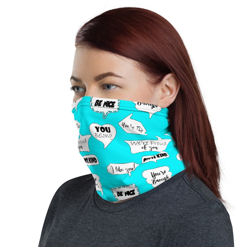 COUNSELOR NECK GAITER  Counselor Face Mask  Reuseable Face image 0
