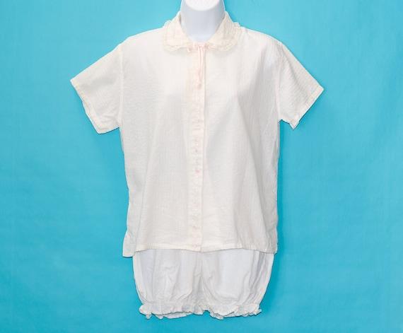 Vintage 1950s Bloomers Pajamas | Medium
