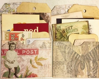 Junk journal pockets