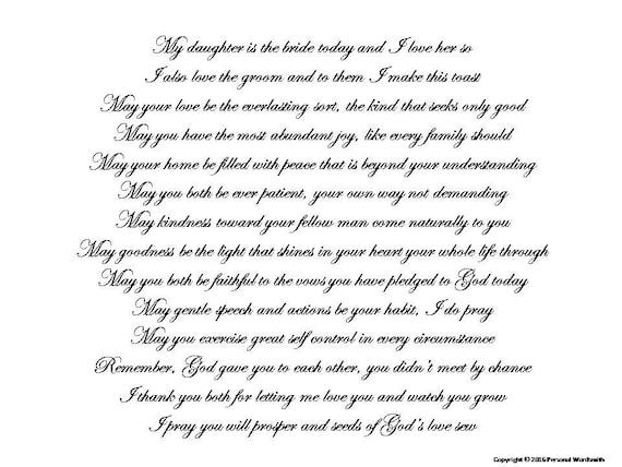 Mother Bride Speech