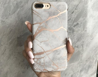 iphone 7 plus case etsyrose marble phone case, rose gold reflective,iphone 6 case, iphone 7 case, iphone 8 case, iphone 7 plus case, iphone x case, iphone 8 plus