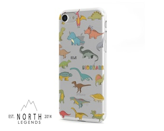 Dinosaurs design for iPhone Cases, Samsung Cases, iPod cases, Galaxy cases, Google Pixel Cases, clear phone case