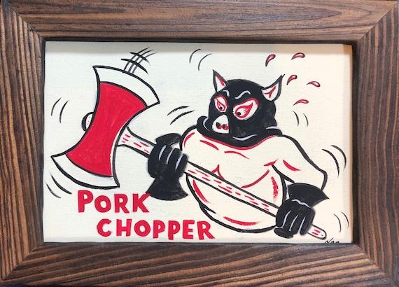 Pork Chopper Etsy