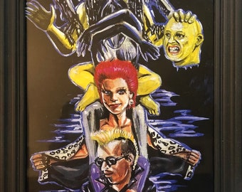 The return of the livingdead totempole Limited prints