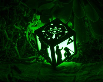 Zelda Breath of the Wild- Link Adventures inspired Color Changing Lantern