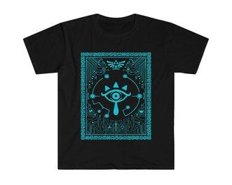 Legend Of Zelda BOTW Sheikah Eye Inspired Tee