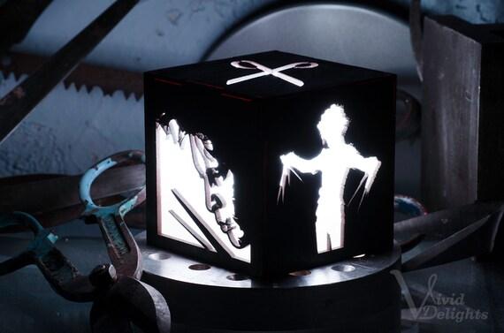Edward Scissorhands inspirado Color cambiar LED linterna