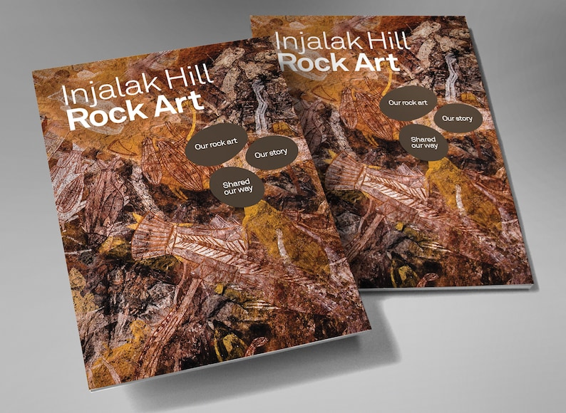 Injalak Hill Rock Art Book  self-published by Injalak Arts image 0