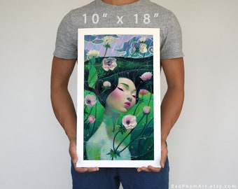 """Beneath the Waves 10"""" x 18"""" - Limited Edition Print"""