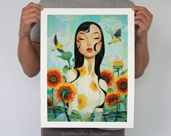"""And the Sun Rises 12"""" x 16"""" - Limited Edition Print"""