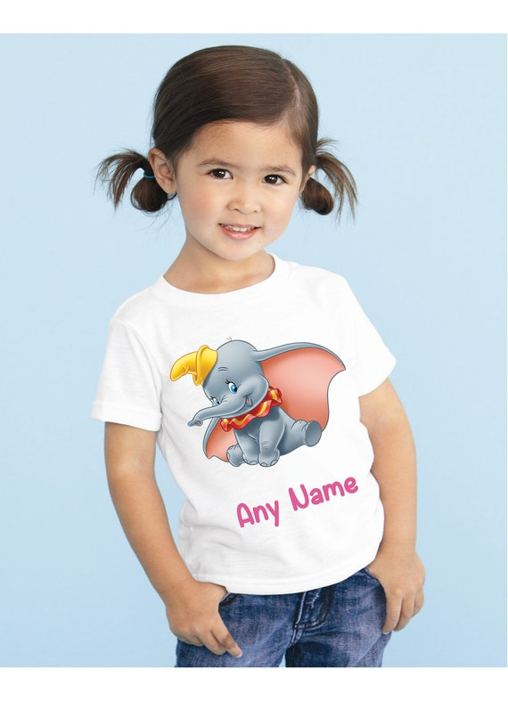 Personalized Custom Dumbo T Shirt Birthday Gift NEW