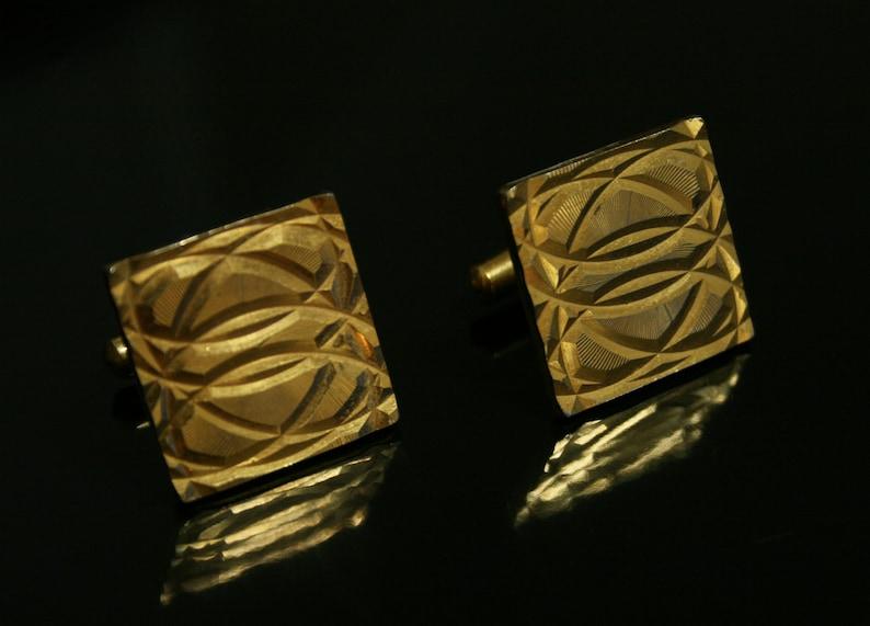 men/'s 80s jewelry Made in USSR Vintage unisex cufflinks groom classic cufflinks