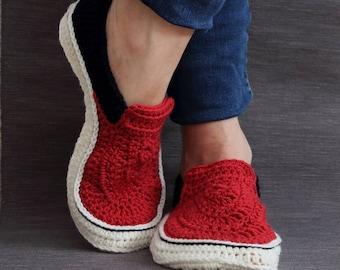 vans crochet pattern