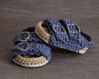 c5a3b03051f7 Crochet PATTERN.Baby sandals.