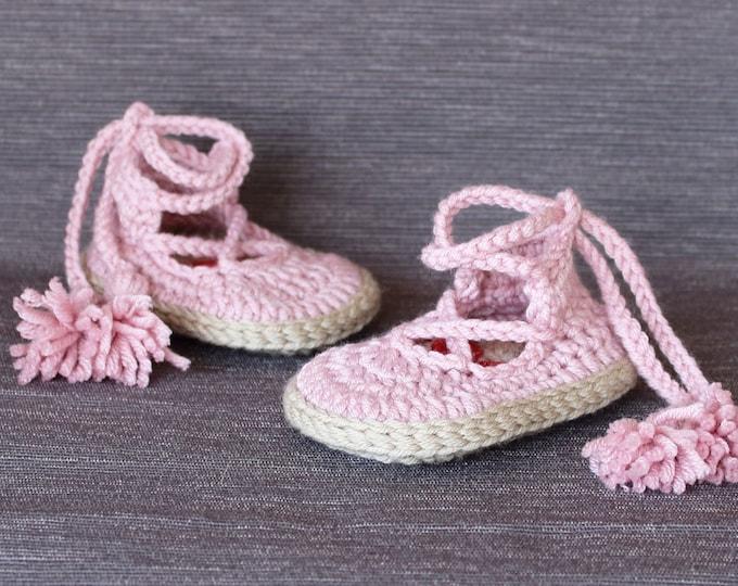 Crochet PATTERN  baby Noa shoes