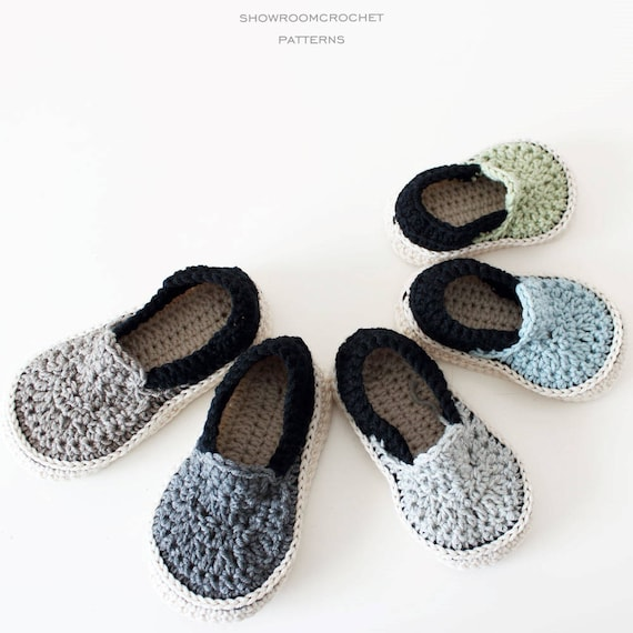 Patrón de crochet zapatillas Vans Talla 12 meses a 5 años   Etsy