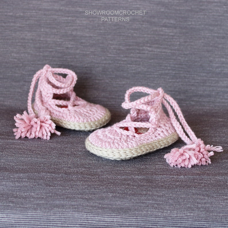 0fd872102e1 Patrón de crochet zapatitos bebe Noa