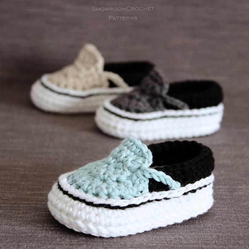 De Zapatillas Bebé Patrón Crochet Para odCBex
