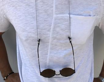 Mens glasses chain | Etsy