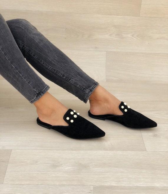 Mules Summer Shoes Women's Mules Black