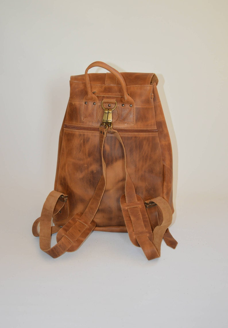 EXTRA LARGE. Leather Rucksack Men Mens Backpack Leather Backpack Made in Greece by Christina Christi Jewels Travel Bag Office Bag