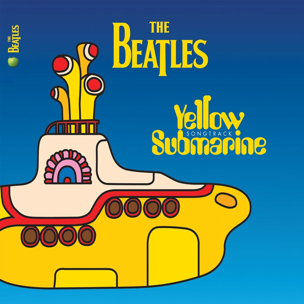 The Beatles Yellow Submarine Songtrack Album Cover Poster Giclée