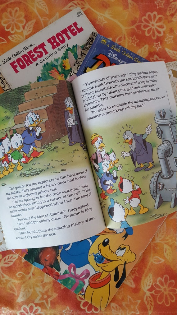 Little Golden Books Walt Disneys Mother Goose Vintage 1952 The Jungle Book  1967 Forest Counting Story 8 in All Retro Classic HTF Fun to Have