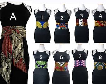 African Print Belt For Women   Ankara Belt To Transform Any Outfit   Plus Size African Dress Belt Available   Obi Belt For Women Waist Belt