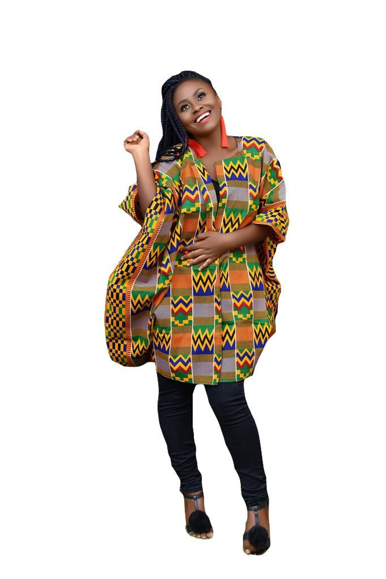 27a1b08bbbb African Clothing For Women Plus Size Ankara Top Oversized
