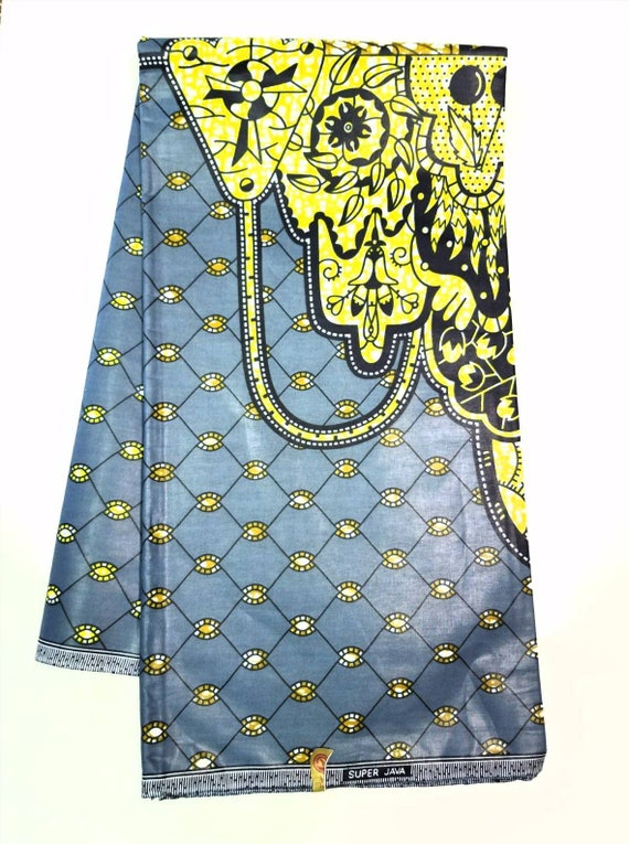 Authentic African Fabric White Ankara Fabric Yellow Ankara Fabric African Print Fabric Dashiki Red Ankara Fabric Teardrop African Fabric