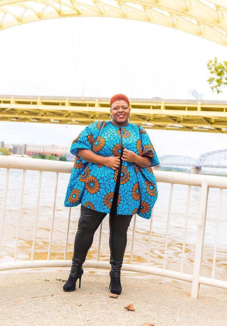 de4cff7216c African Clothing For Women Plus Size Oversized Kimono Orange