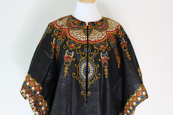 d880a9f0bcf African Clothing For Women Plus Size Black Oversized Dashiki