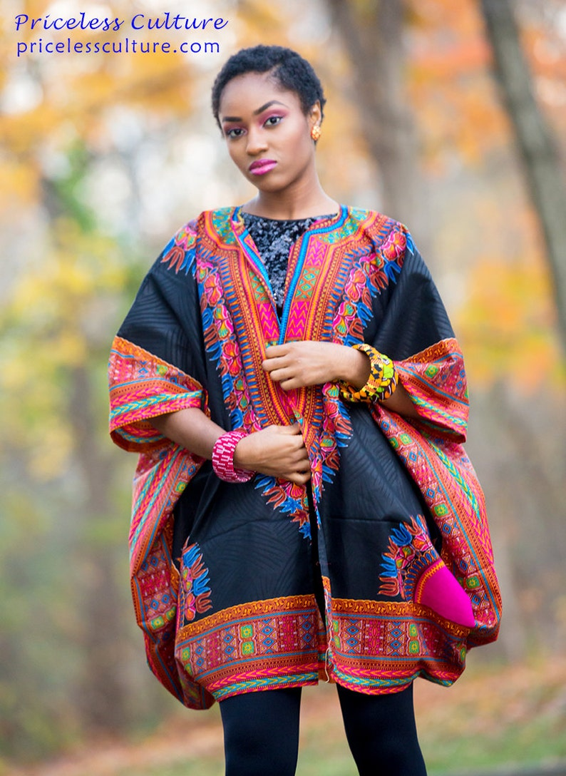 7eeebf2a321 African Clothing For Women Dashiki Top One Size Fits All