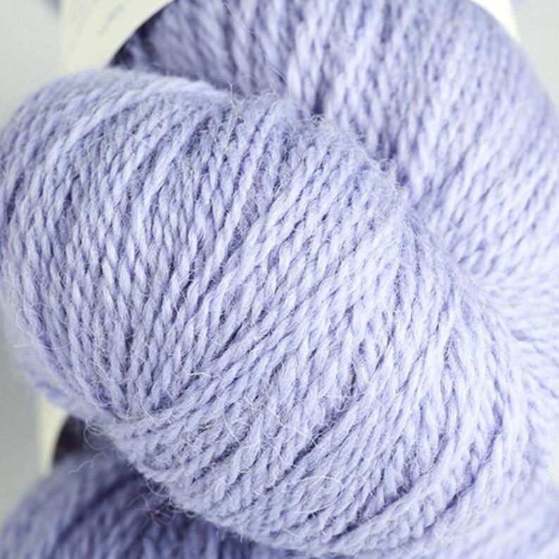 Lilac 4ply Doulton yarn