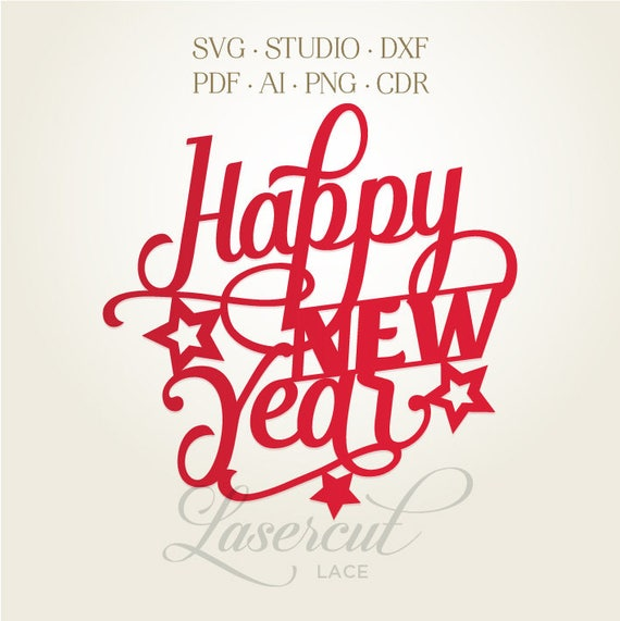 Happy New Year Lettering 39